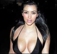 Ким Кардашян соблазнит любого.