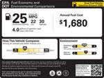 Новые автомобили в США разделят по классам экономичности
