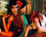 Две фотосессии в Vogue Italia февраль 2011