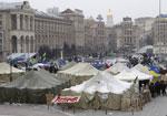 Милиция снесла палаточный городок на Майдане