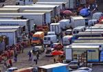 Во Львове парализована работа крупнейшего в Западной Украине оптового рынка