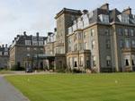 Гольф-курорт The Gleneagles Hotel в Шотландии