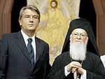В Украину прибыл Вселенский патриарх Фото с сайта korrespondent.net