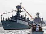 35% респондентов считают, что Россия не имела права выводить свои корабли из Севастополя Фото с сайта korrespondent.net
