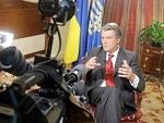 Украинцы смогут увидеть обращение Виктора Ющенко   Фото с сайта korrespondent.net