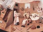 Составлен рейтинг греховности областей Украины.  Фрагмент «Семь смертных грехов» И. Босха