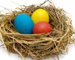 Как правильно красить яйца на Пасху