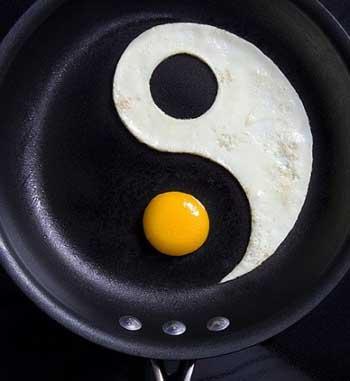 Блюда японской кухни из яиц