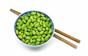 Блюда японской кухни из сои