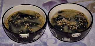Блюда японской кухни - супы