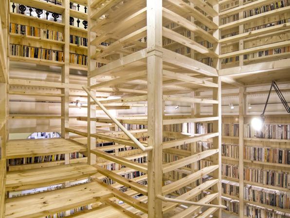 Книжная трехэтажная башня Arc Booktower