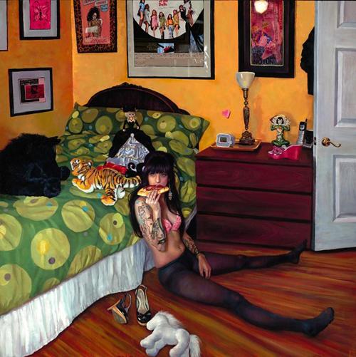 Скандальная художница Natalia Fabia