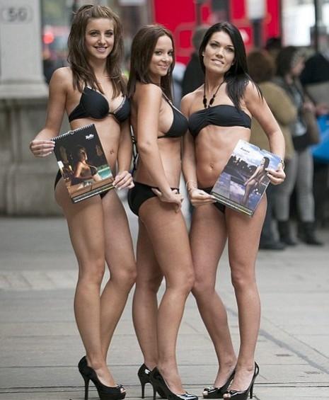 Девушки с календарей — 2010