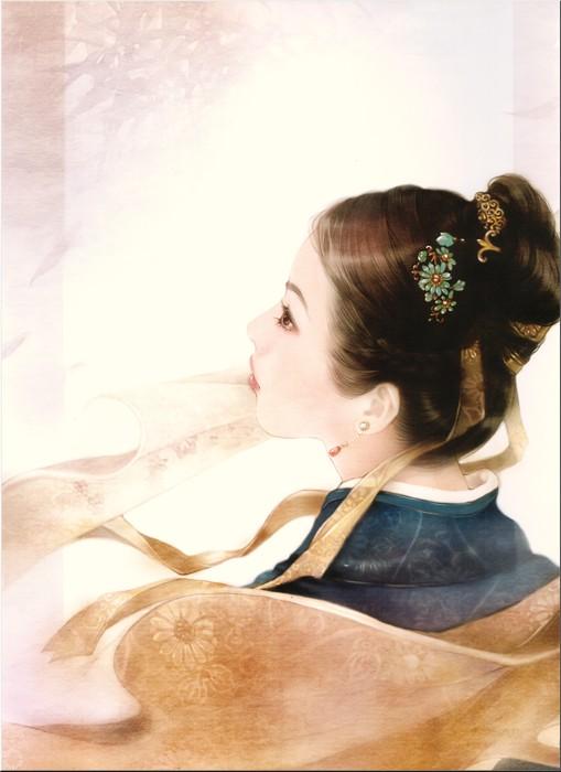 Картины художницы Дер Джен Der Jen. Часть 2