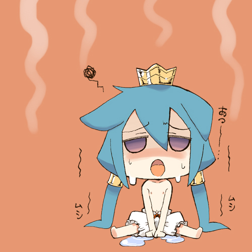 Летняя жара в стиле аниме