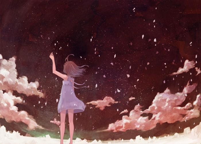Прощание с летом вместе с  анимешками