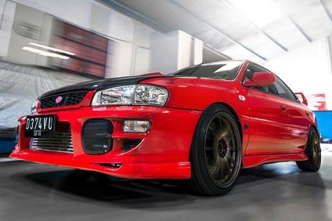 Тюнінг Subaru Impreza WRX STi 1994 року випуску