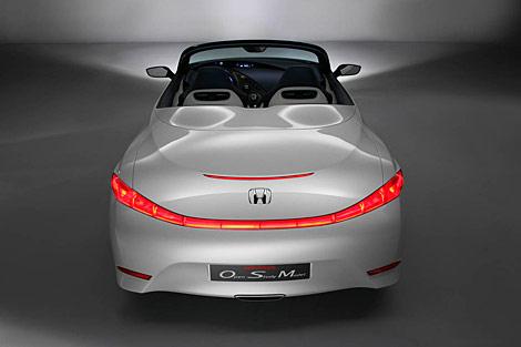 В Лондоне показали новый экологичный родстер Honda (Фото)  Фото с сайта auto.lenta.ru