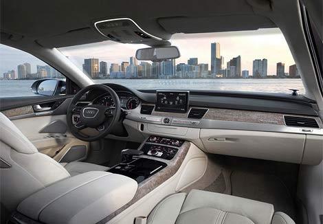 Компания Audi представила новый седан A8