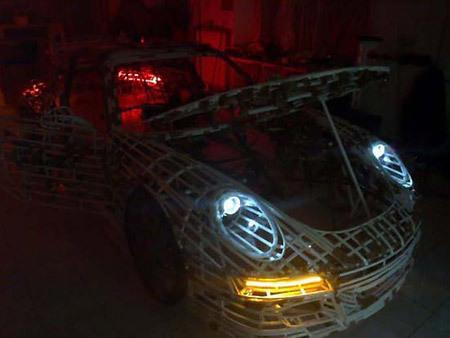 Как сделать Porsche 911 GT3 RS своими руками