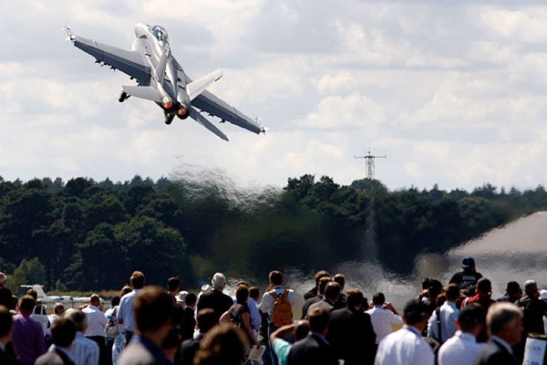 The Farnborough International Exhibition and Flying Display 2010