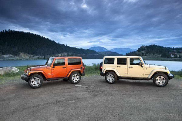 Новый Jeep Wrangler и Jeep Wrangler Unlimited 2011