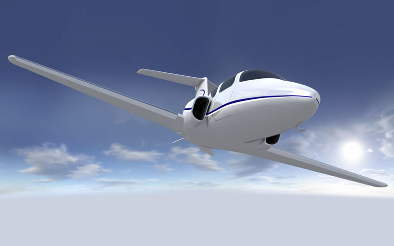 Cамолет от Maverick - новый вид частного воздушного транспорта