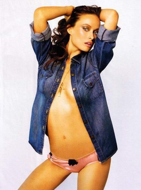 Пикантные фото Оливии Уайлд Olivia Wilde для журнала Maxim