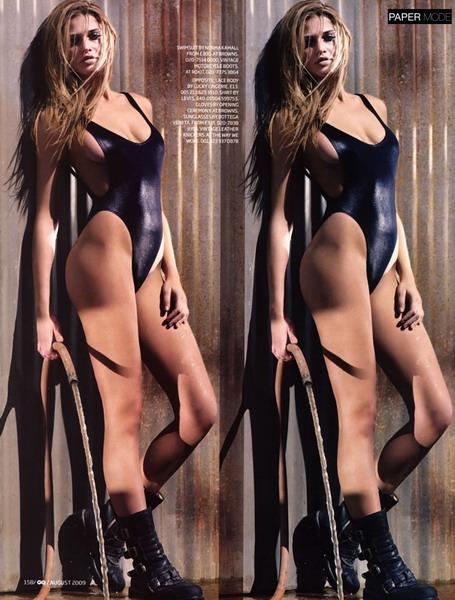 Фотосессия сексуальной Ана Беатрис Баррос в GQ UK