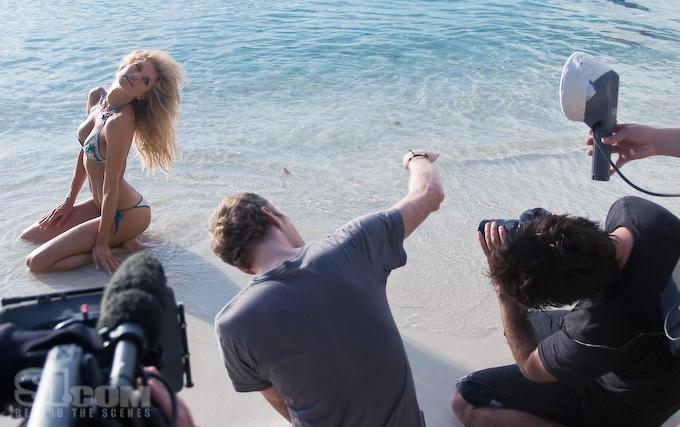 Фотосессия Ангела Victoria's Secret Марисы Миллер Marisa Miller на пляже
