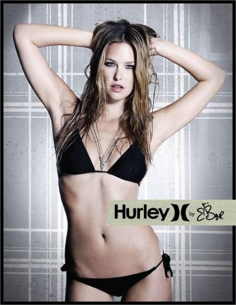 Супермодель Bar Rafaeli  Бар Рафаэли для Hurley в бикини