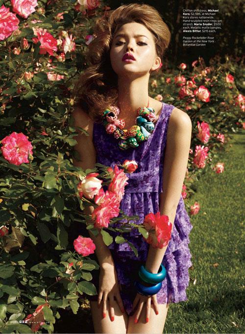 Devon Aoki Девон Аоки в цвету