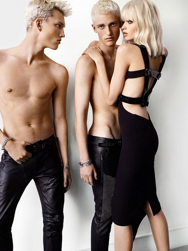 Рекламная кампания Versace Весна 2011