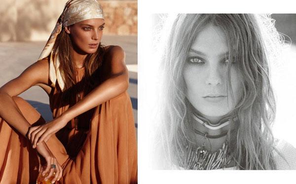 Дарья Вербови Daria Werbowy в рекламных кампаниях весны 2011