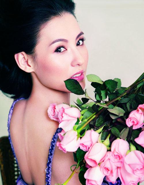 Сесилия Ченг Cecilia Cheung в февральском Harper's Bazaar China