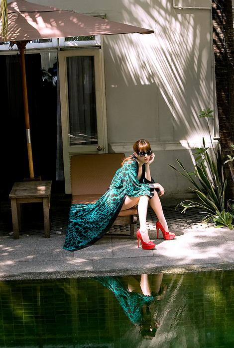 Фотосессия модели из Японии Yumi Sugimoto Юми Сугимото