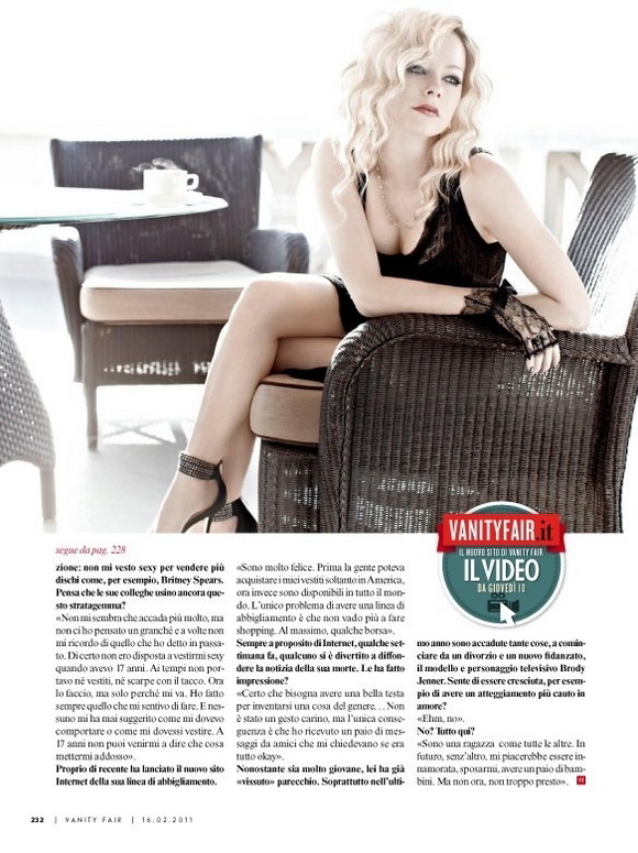 Аврил Лавин Avril Lavigne в Vanity Fair Italy