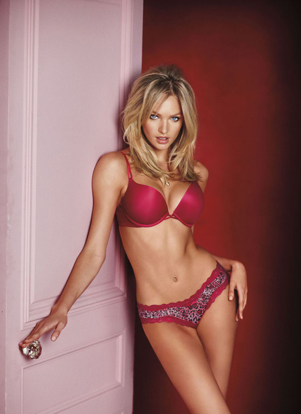 Кэндис Свейнпол Candice Swanepoel в рекламе Victoria's Secret и в Vogue Italia
