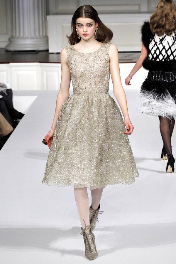 Неделя моды в Нью Йорке: Oscar de la Renta (Fall 2011)
