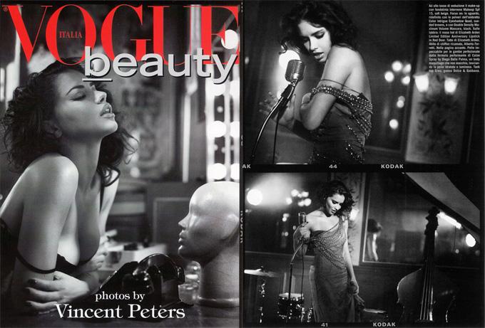 Адриана Лима Adriana Lima в Vogue Italia