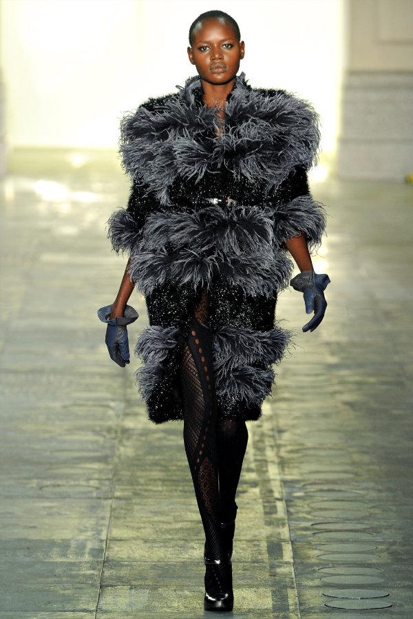 Неделя моды в Лондоне: Topshop Unique Fall 2011
