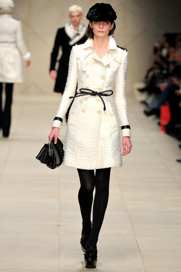 Белое пальто с чем носить 11