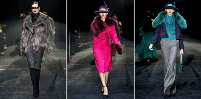 Неделя моды в Милане: Gucci Fall 2011