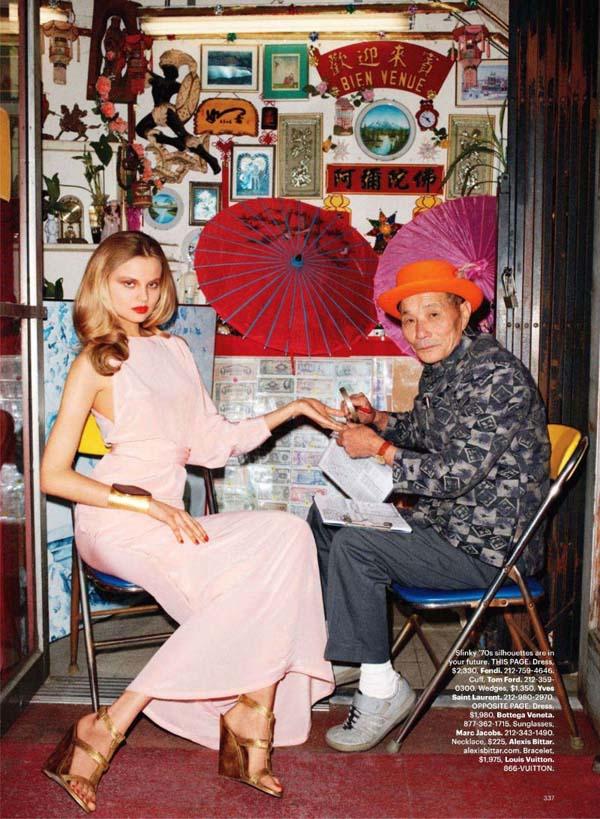 Магдалена Фраковяк Magdalena Frackowiak в Harper's Bazaar US