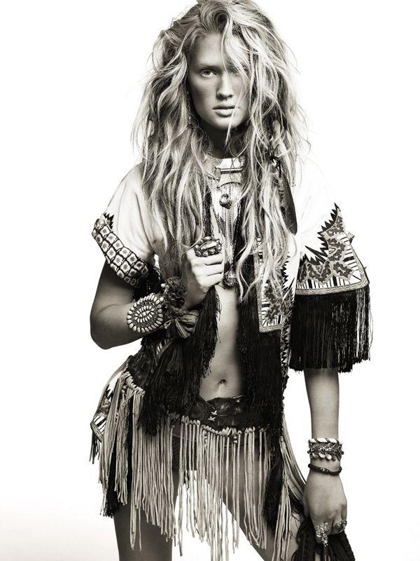 Настоящий индеец в испанском Vogue
