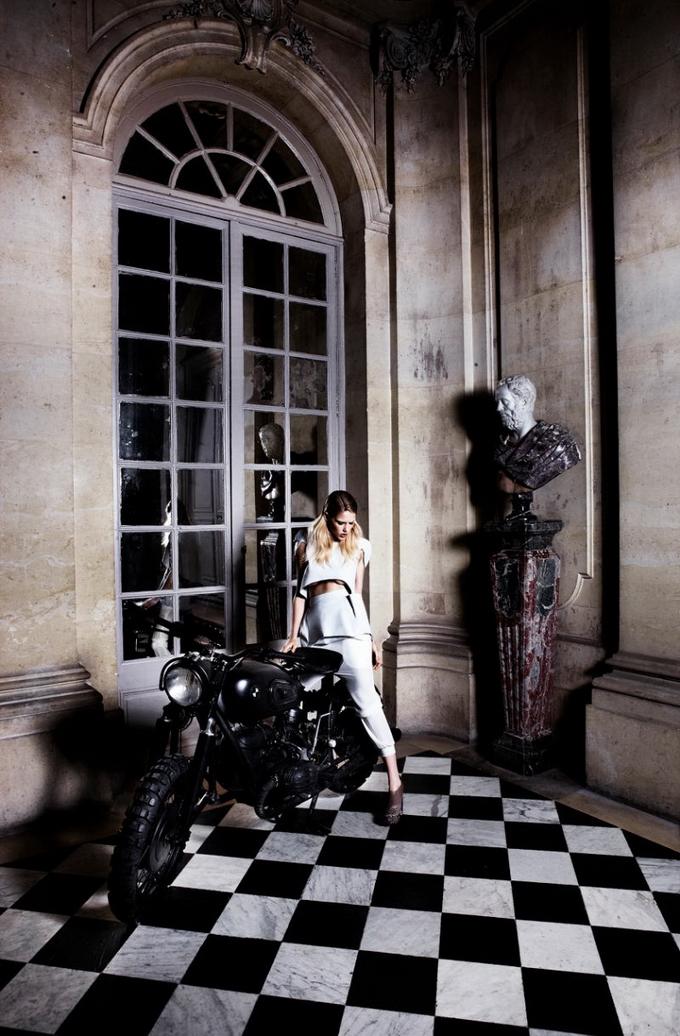 Эшли Смит Ashley Smith в рекламной кампании Ellery осень 2011