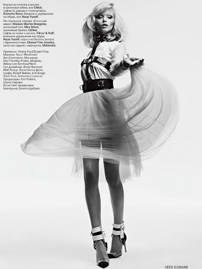 Эбби Ли Киршоу Abbey Lee Kershaw в Vogue Russia