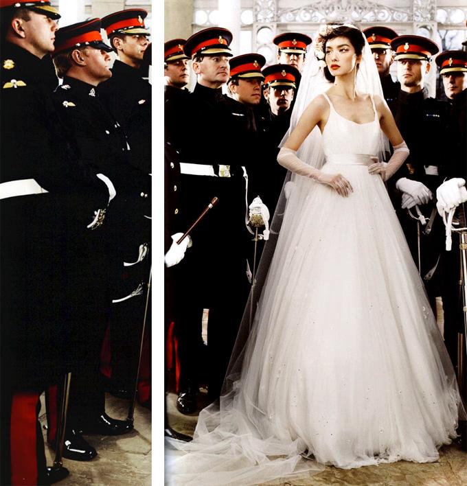 Свадьба в Vogue UK