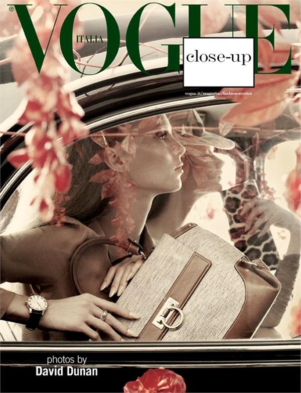 Фотосессия в Vogue Italia