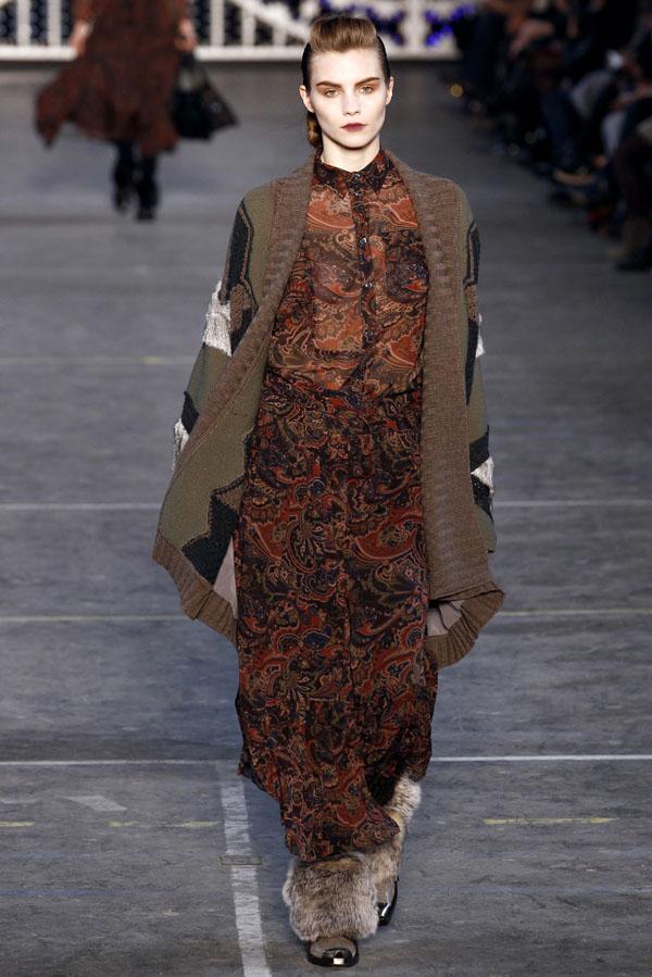 Неделя моды в Париже: Kenzo Fall 2011